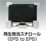 再生発泡スチロール(EPS to EPS)